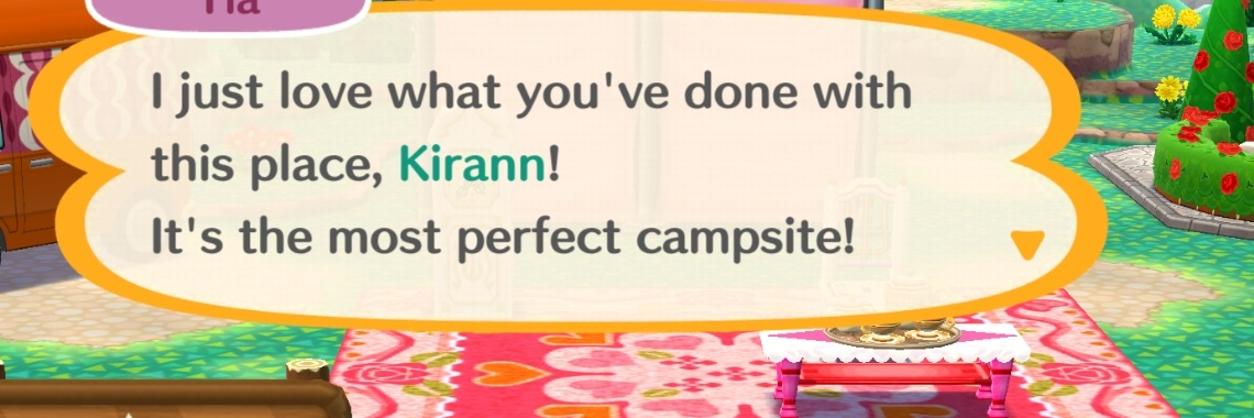 Gezellige gesprekjes in Animal Crossing Pocket Camp
