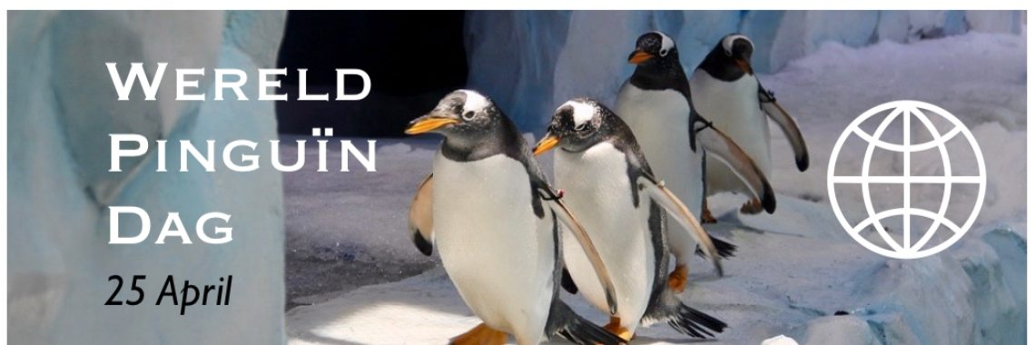 Wereld Pinguin Dag - 25 April