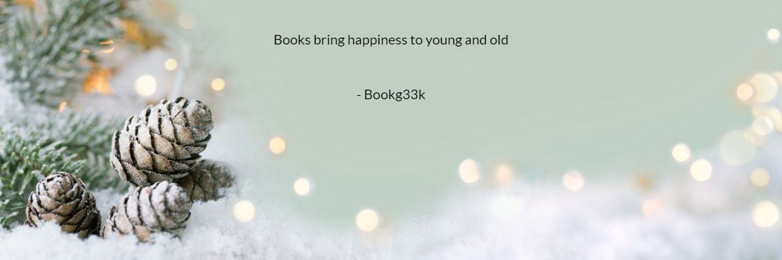 Books bring happiness to young and old  - Bookg33k