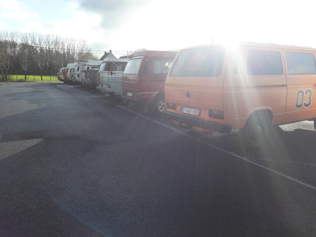 Kerstmeeting vw t3 club