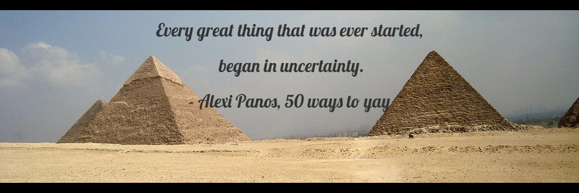 Every great thing that was ever started,