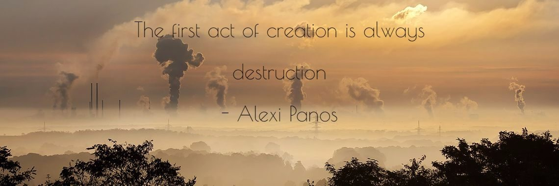 The first act of creation is always
