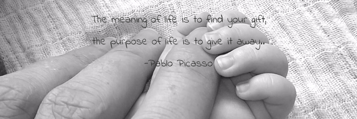 The meaning of life is to find your gift,