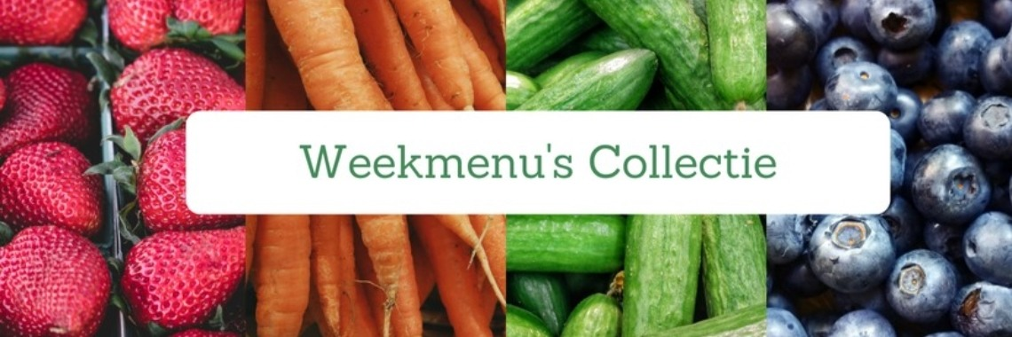 Weekmenu collectie