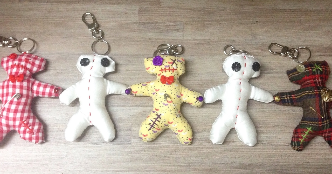 Lucky voodoo dolls