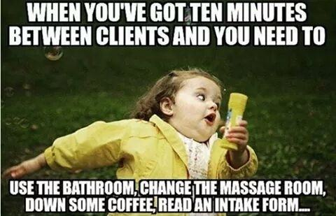 My life story als massagetherapeut 😂