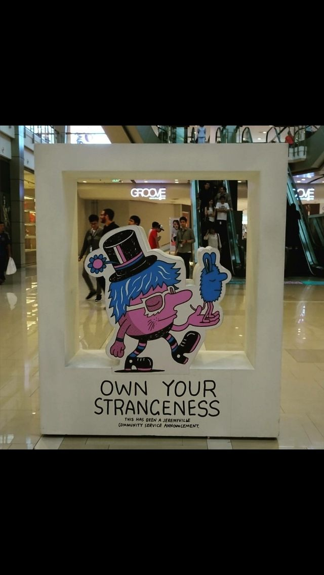 Own your strangeness
