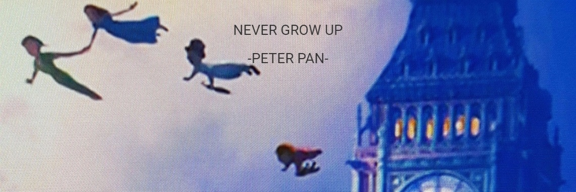 Never Grow Up Peter Pan Disney Quote Peter Pan
