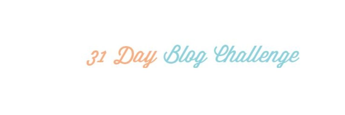 31 Day Blog Challenge - Dag 1 - Introductie