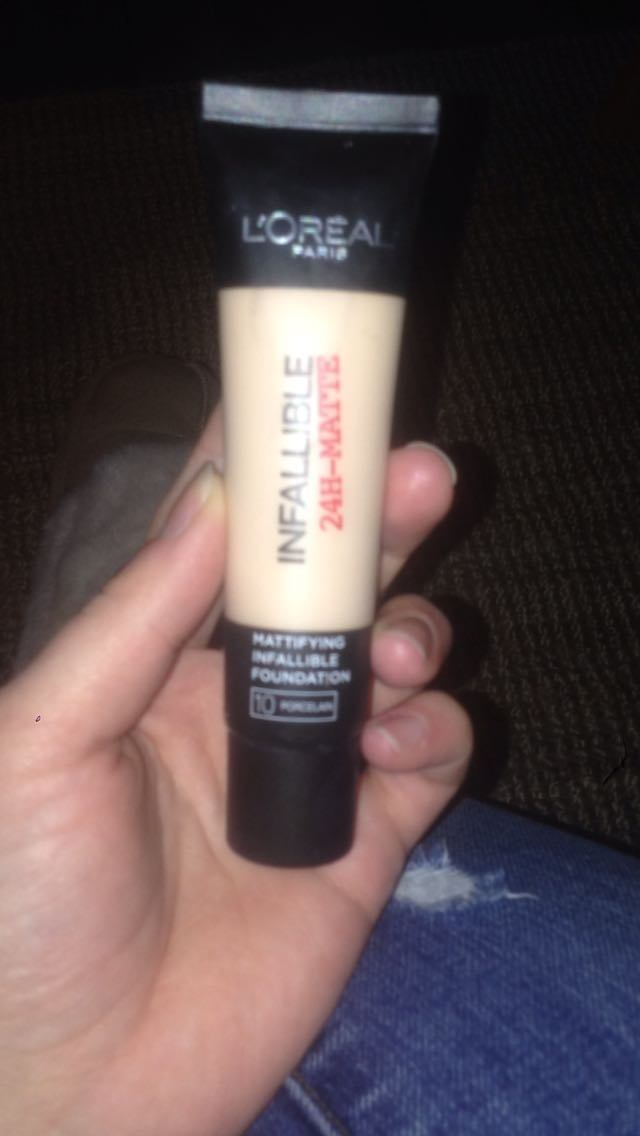 L'Oreal Paris infallible foundation