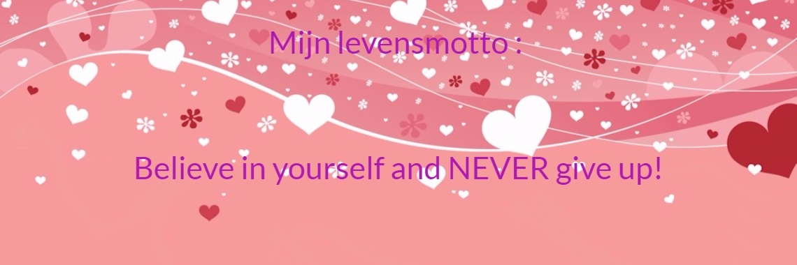 Mijn levensmotto : 
