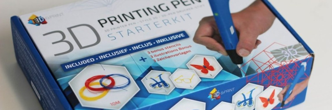 3D and print, printing pen. - Lotte's Lifestyle Vormgever