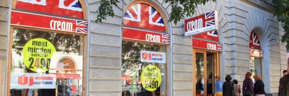 #Budapest Travel Tip: #Secondhand #Shopping at Cream