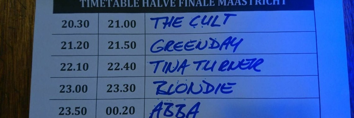 Halve finale Battle of the tribute bands Maastricht