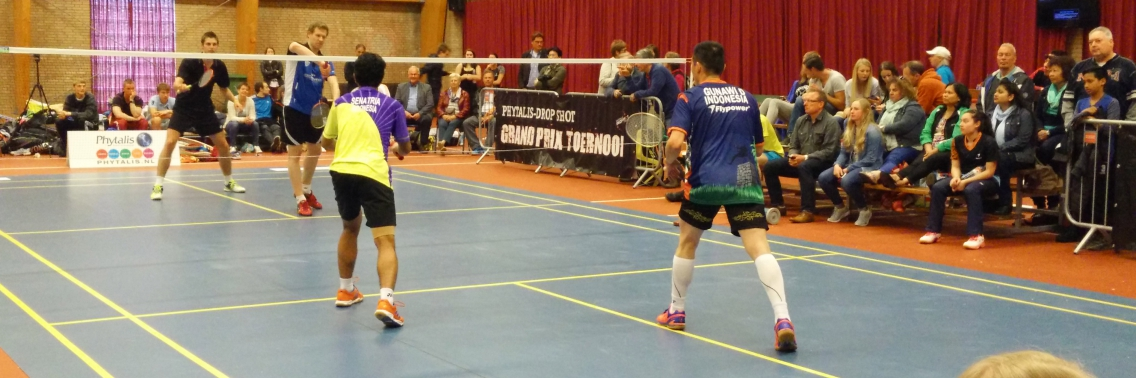 Badminton, topsport of campingsport?