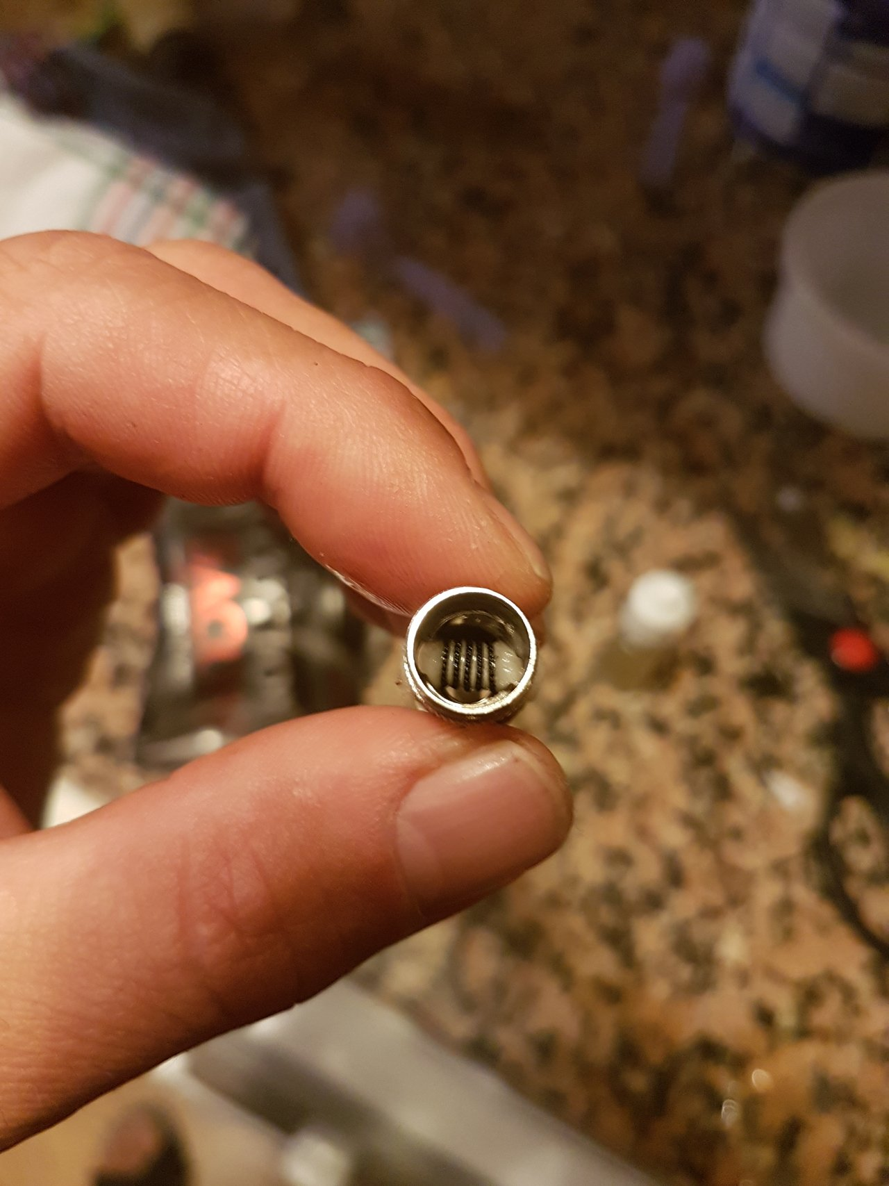 Home build horizontale coil