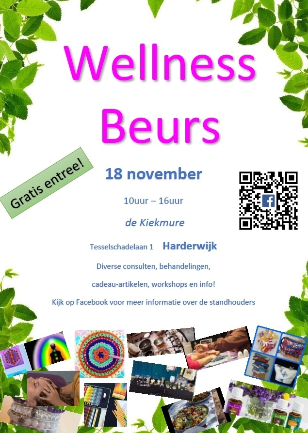 Wellness beurs 18 november! Gratis entree!