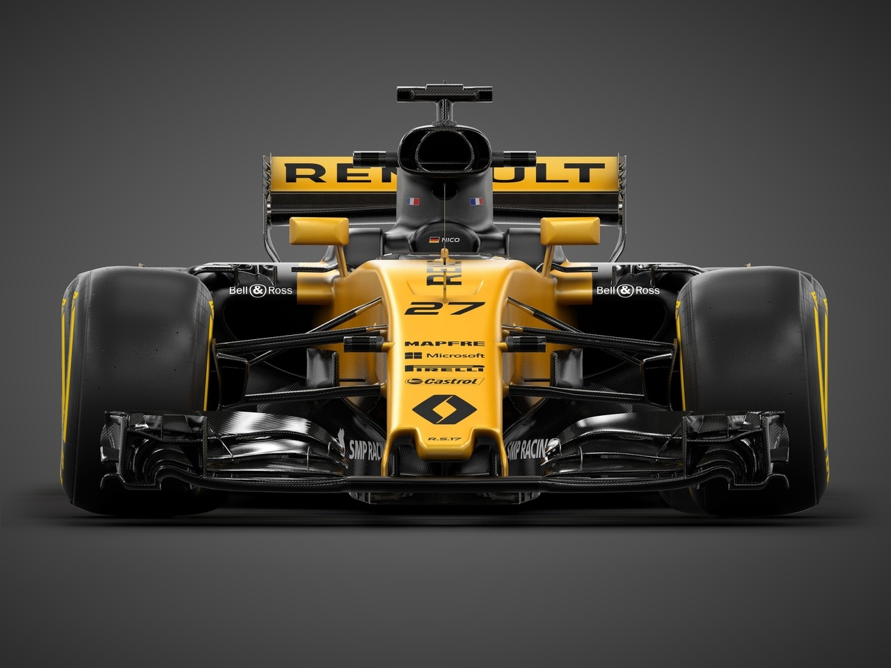 Yeaahhhh Renault Sport Formula One Team presenteert R.S.17 in Londen