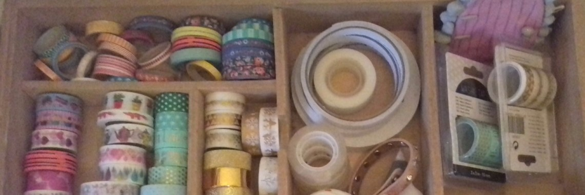 Mijn washi tapes :)