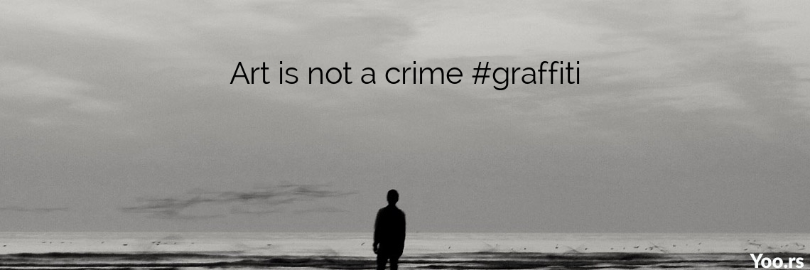 Art is not a crime #graffiti