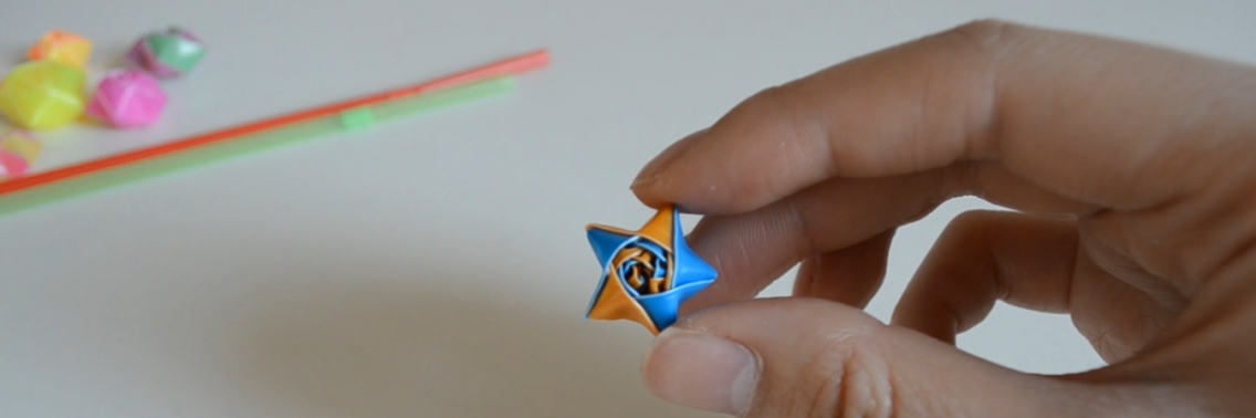 Do it yourself ''STRAW STARS''