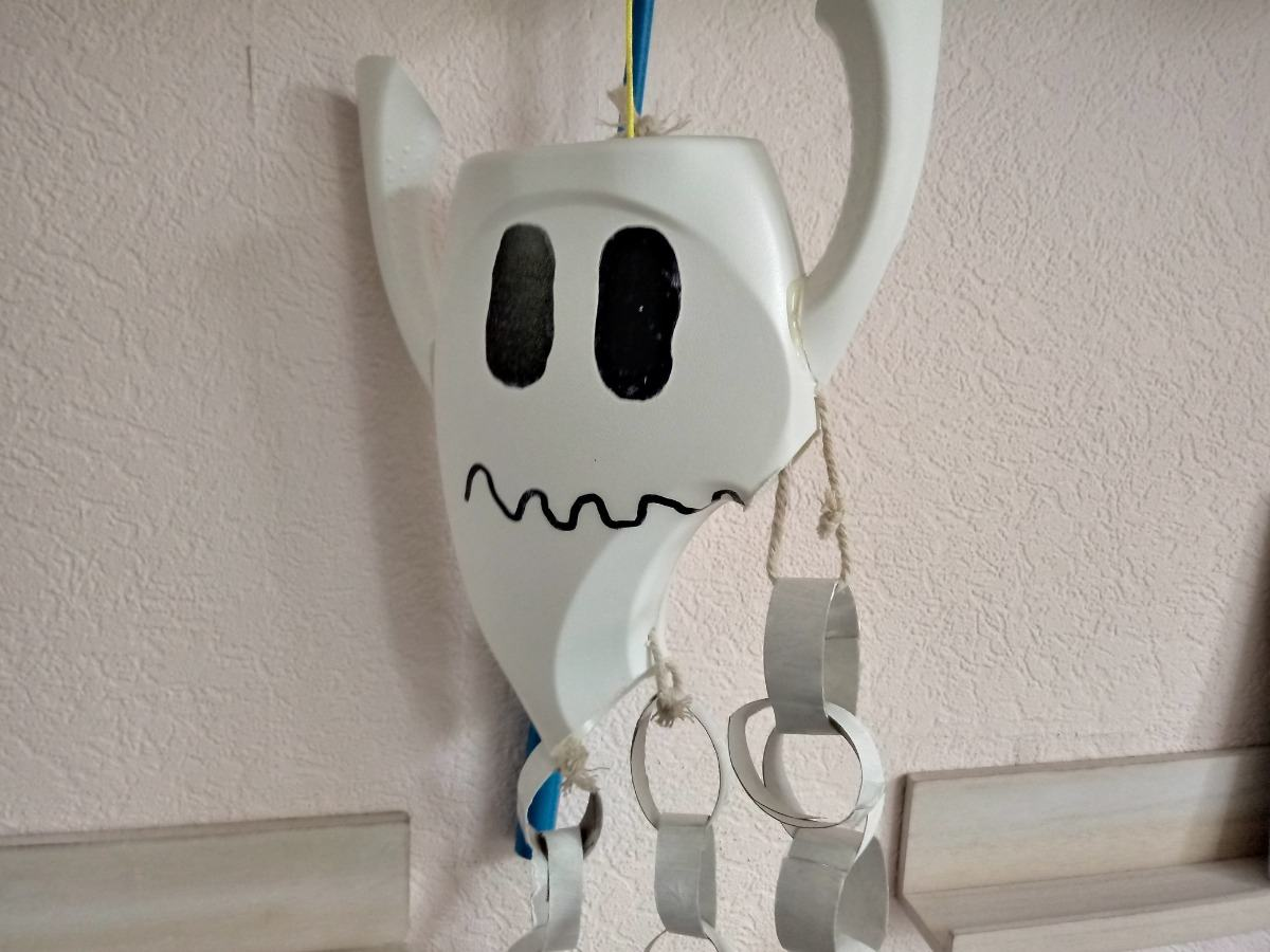 spook lampion knutselen