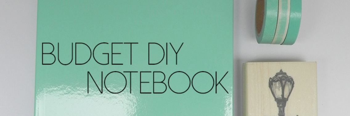 Budget DIY: notebook