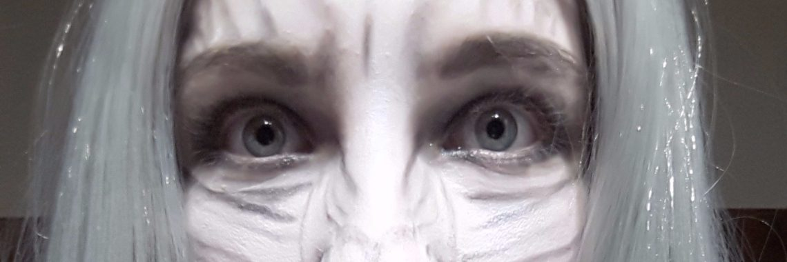 Halloween Tutorial: White Walker (Game of Thrones) Glam versie