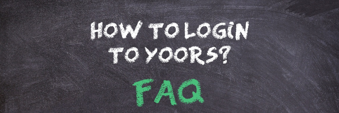 How to login to Yoors?