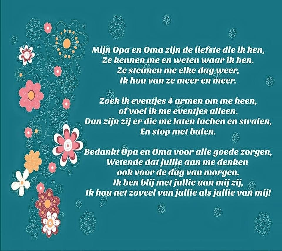 Ongebruikt Opa en Oma | gedicht | Don't forget to Sparkle FO-38