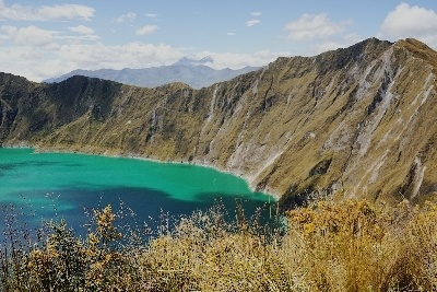 The amazing Quilotoa crater lake
