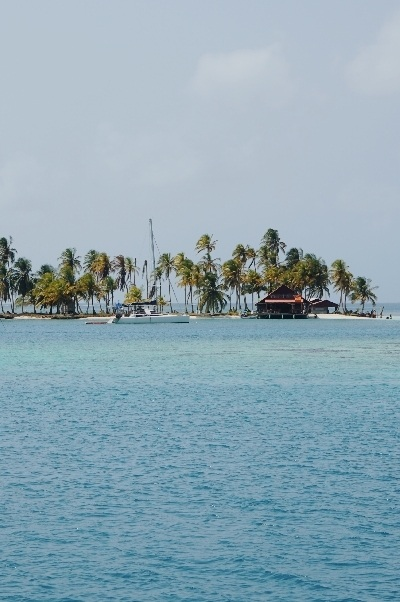 San Blas islands sailing boat trip Panama Colombia