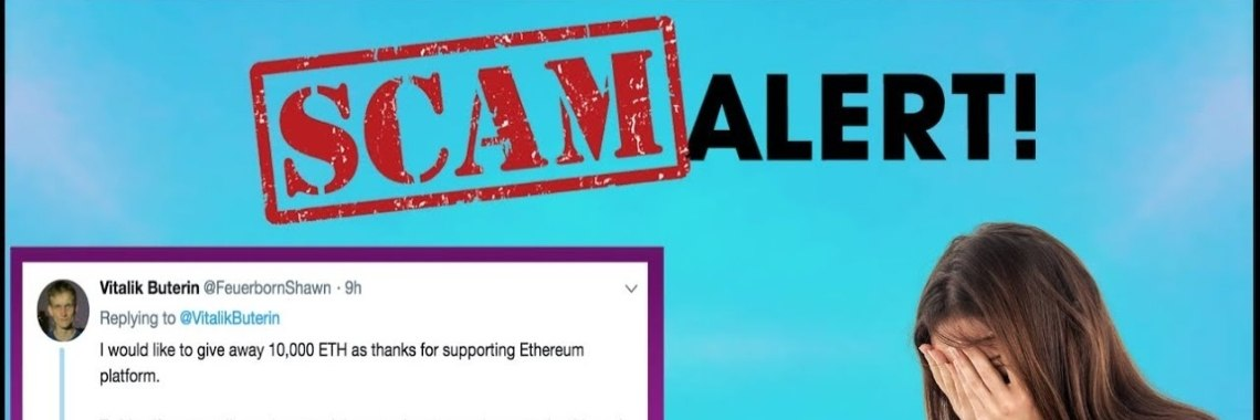 Crypto news: Cryptocurrency Scam op Twitter.