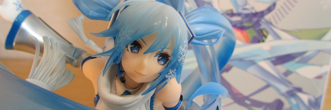 Figure review; snow Miku, 1/7th scale